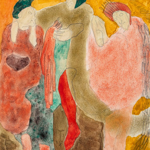 Untitled, Three figures