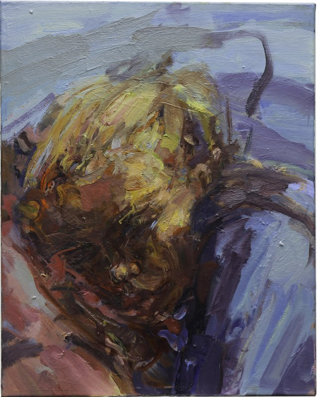<h3>Ellie Sleeping</h3><span>Oil on Linen | 2019 | 60 x 45 cm</span>