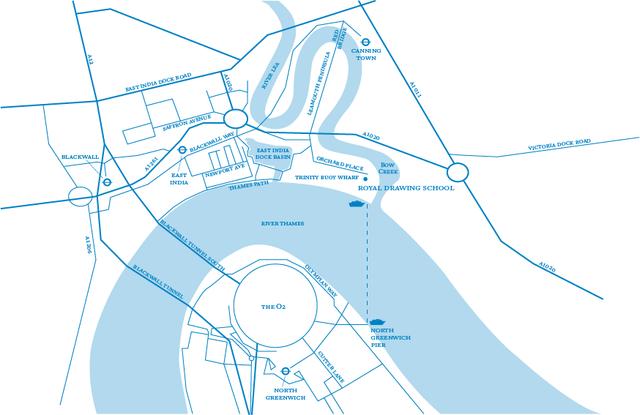 Trinity Buoy Wharf Map