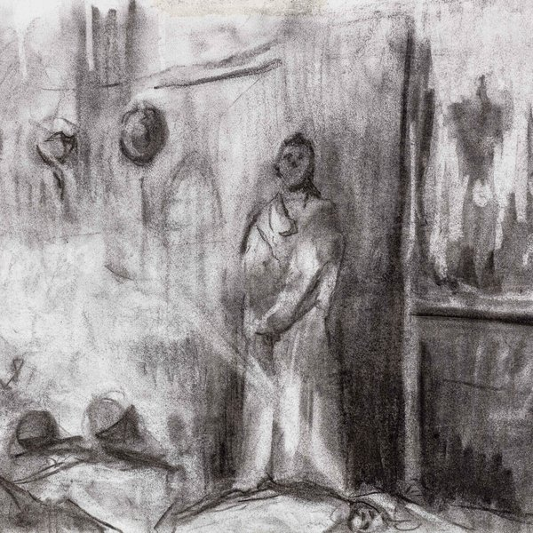 Drawing from Andrei Rublev