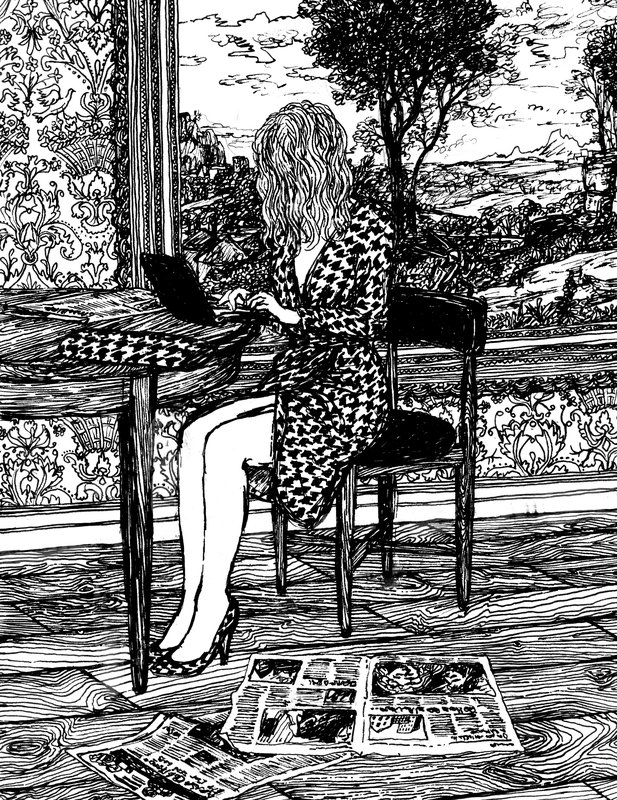 Ferragamo Girl<span>Copyright Charlotte Mann</span>