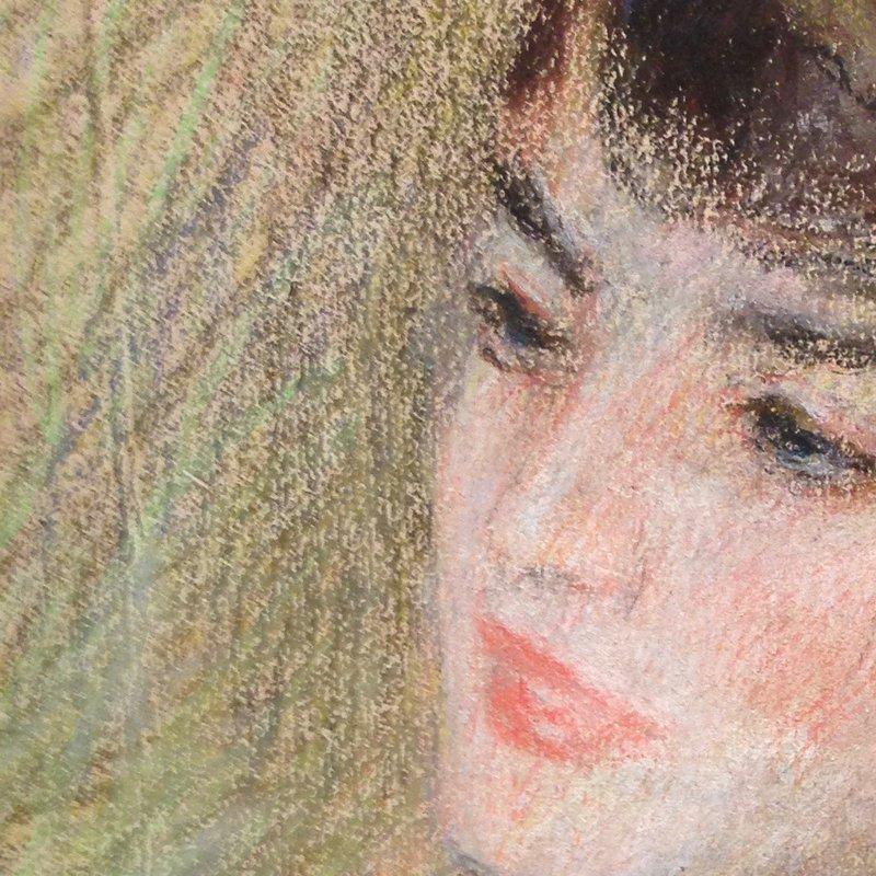 Fig. 11 Detail of Renoir (1841 1919) Étude de femme Circa 1880..jpg