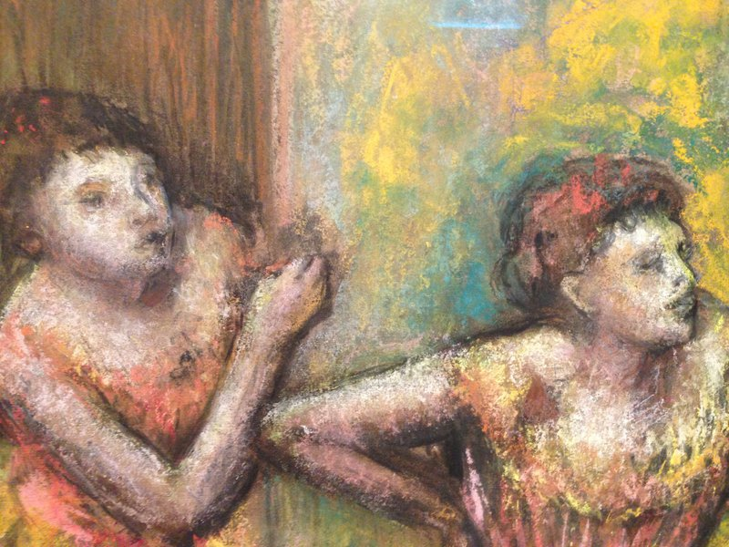 Fig. 8 Degas 1834-1917, Quatre danseuses (detail ONE), circa 1905-12.jpg