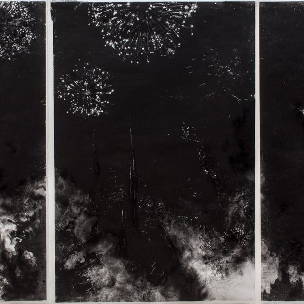 Fireworks over Stanley Gardens
