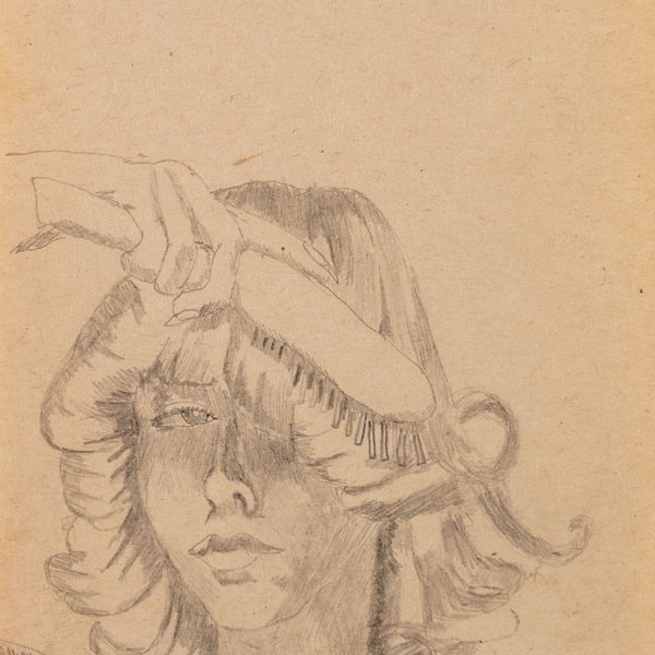 Wonder Girl with Hairbrush