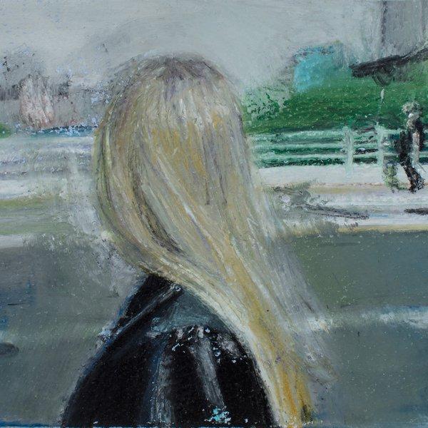 Jessica, Looking East on Waterloo Bridge.