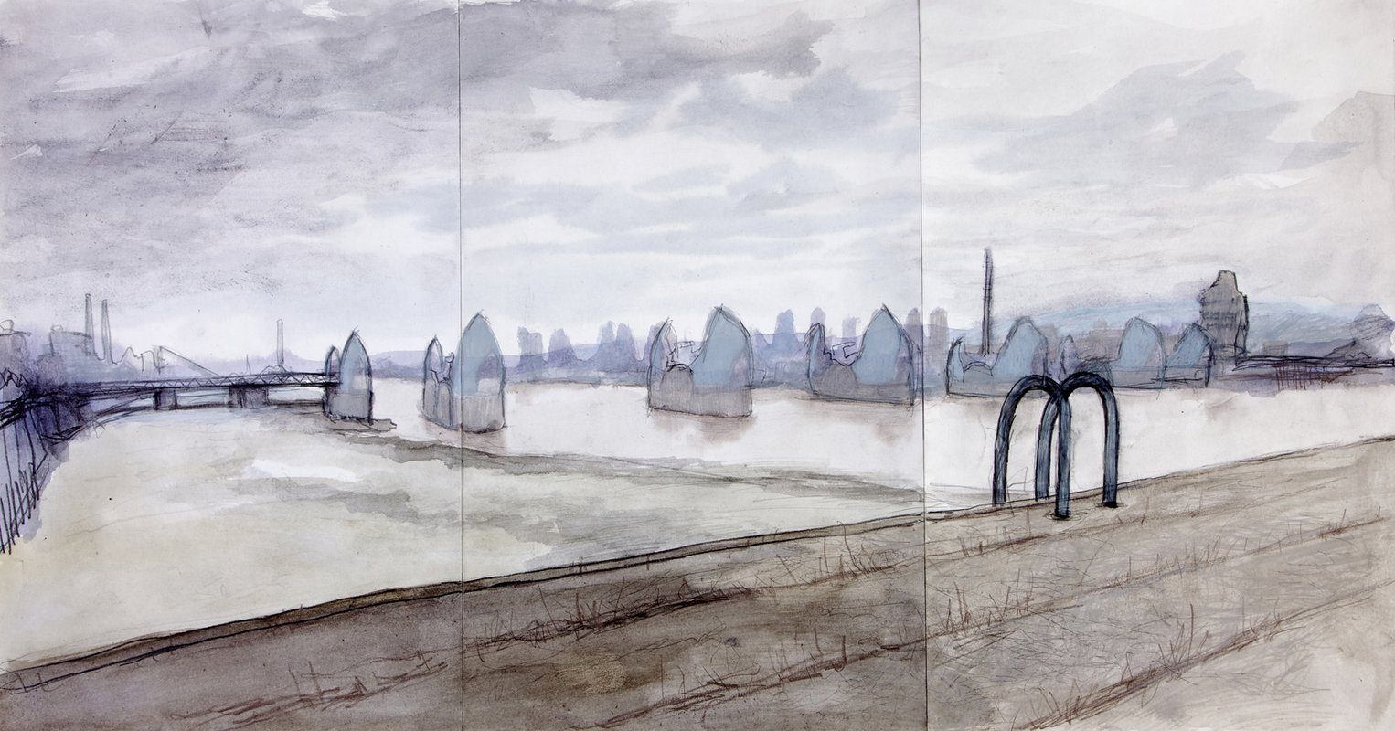 Thames Barrier<span>Copyright George Colley</span>
