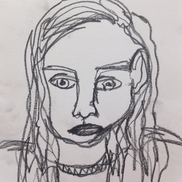 Gigi Grunberg, Aged 13, Whitechapel Gallery