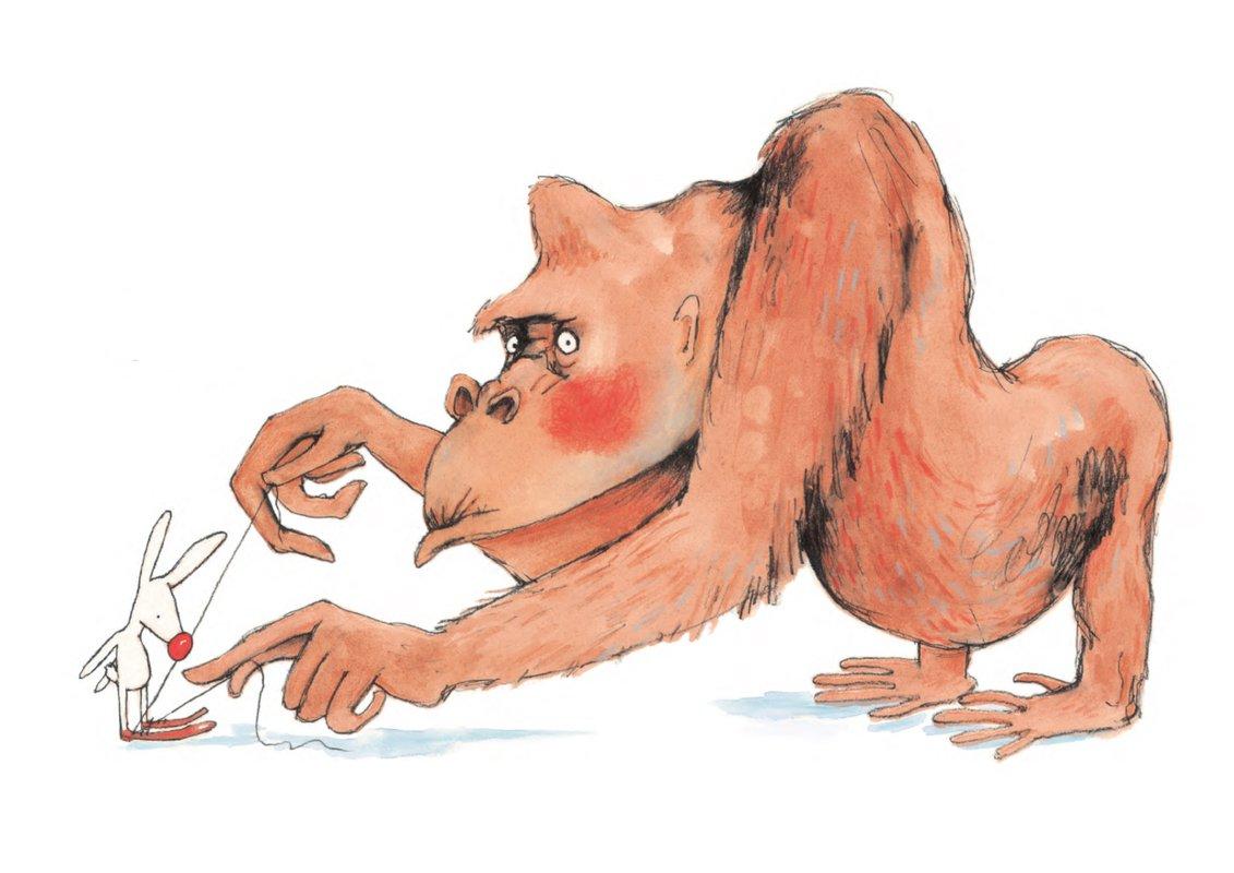 Gorilla<span>Copyright Louise Yates</span>