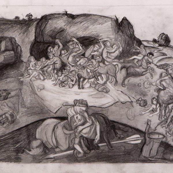 The Lapus vs the Centaurs