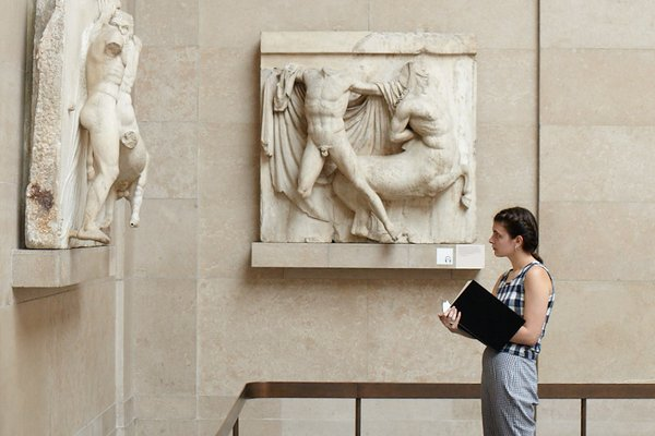 Drawing at The British Museum
