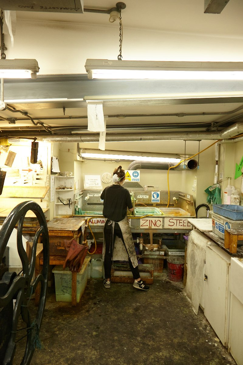 Evening Etching / Print Room
