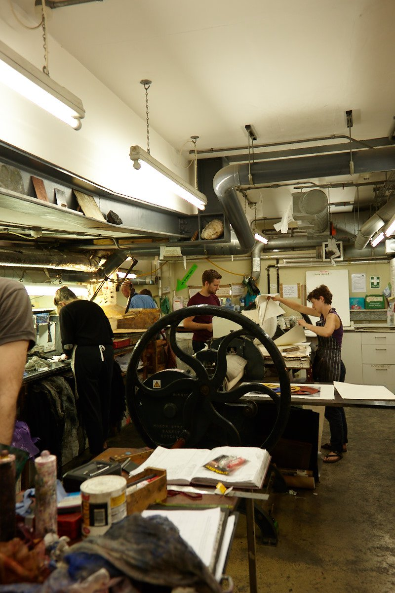 Drawing into Etching / Shoreditch Print Room