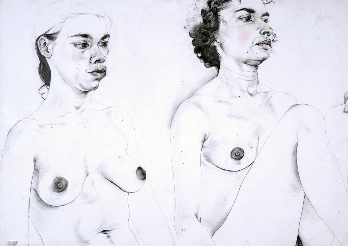 Untitled (Two Figures)<span>Copyright Ishbel Myerscough</span>