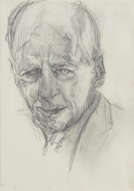 <h3>Jacob Rothschild, 4th Baron Rothschild</h3><span>2006 | Pencil on paper | 410 x 290 mm</span>