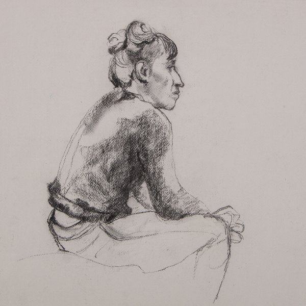 Study of a girl I
