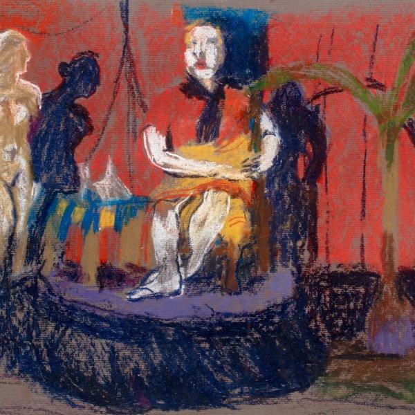 Woman on a Plinth