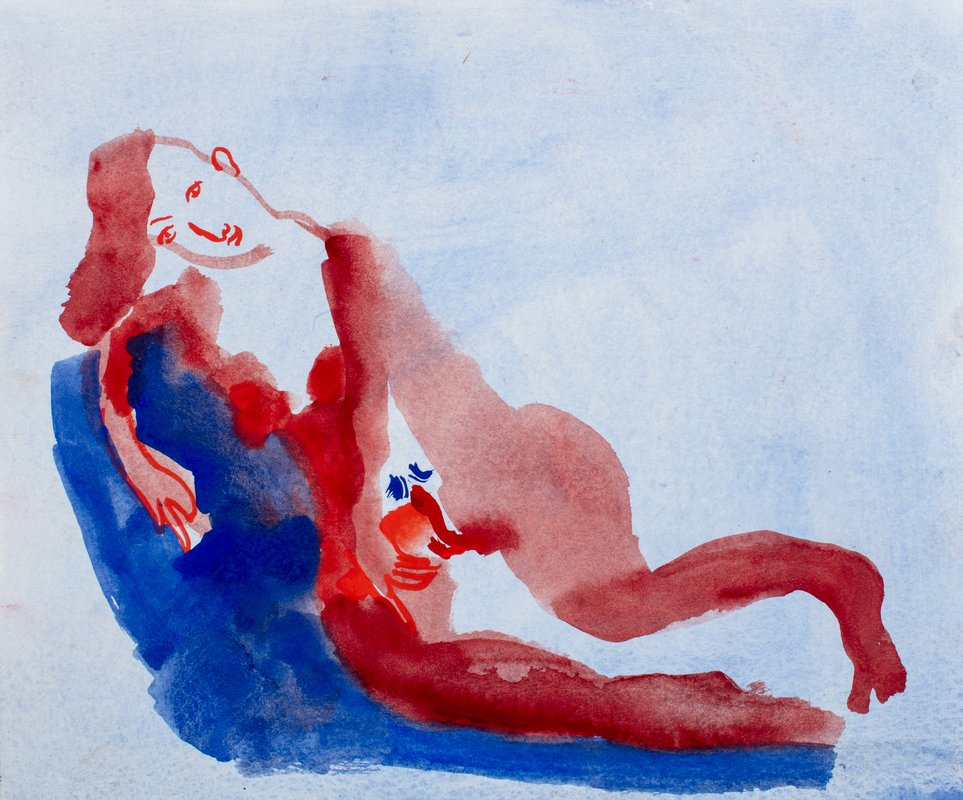 In Blue, In Red<span>Copyright Jessica Jane Charleston</span>