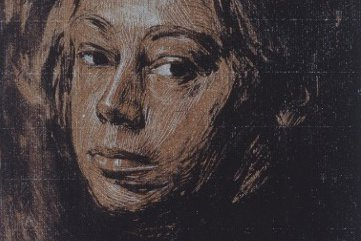Drawing Self-Portraits - Kathe Kollwitz