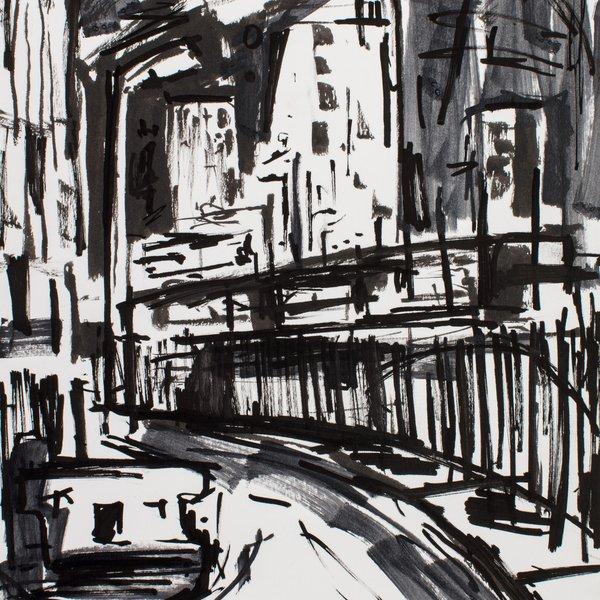 Night Drawing in London II
