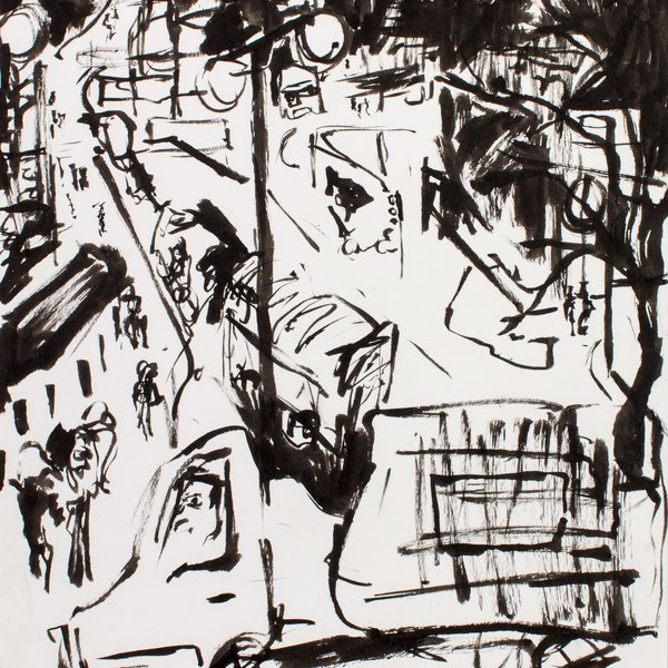 Night Drawing in London III