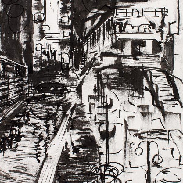 Night Drawing in London IV