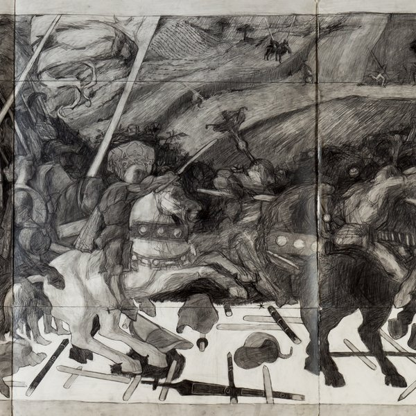 The Battle of San Ramano afer Uccello