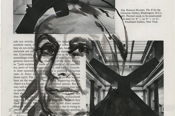 Coral Woodbury in conversation with Claudia Tobin (Drawing of Louise Nevelson)