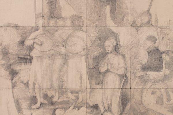 Nativity (after Piero della Francesca)