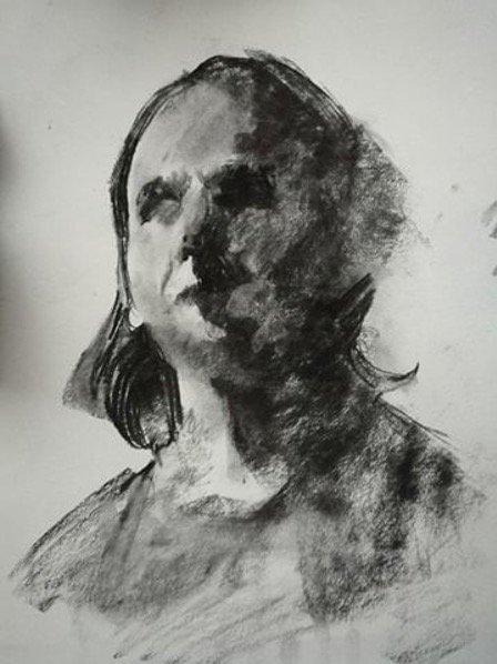 Drawing the Self-Portrait - Marina Renee Cemmick