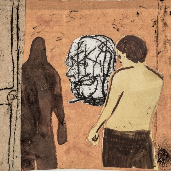 Still of Two Men, a Door and a Floating Head