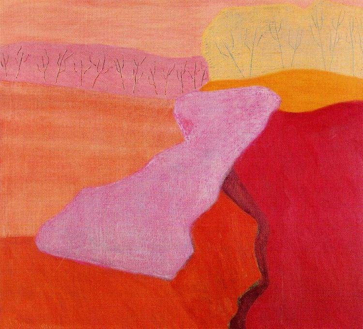 Milton Avery- Shapes of Spring, 1952, oil on canvas, 72 x 80cm.jpeg