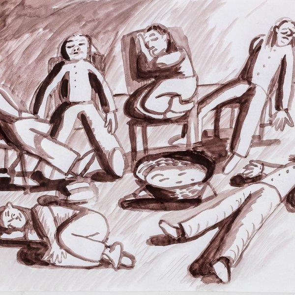 Rhiannon's Six Sleepy Maids