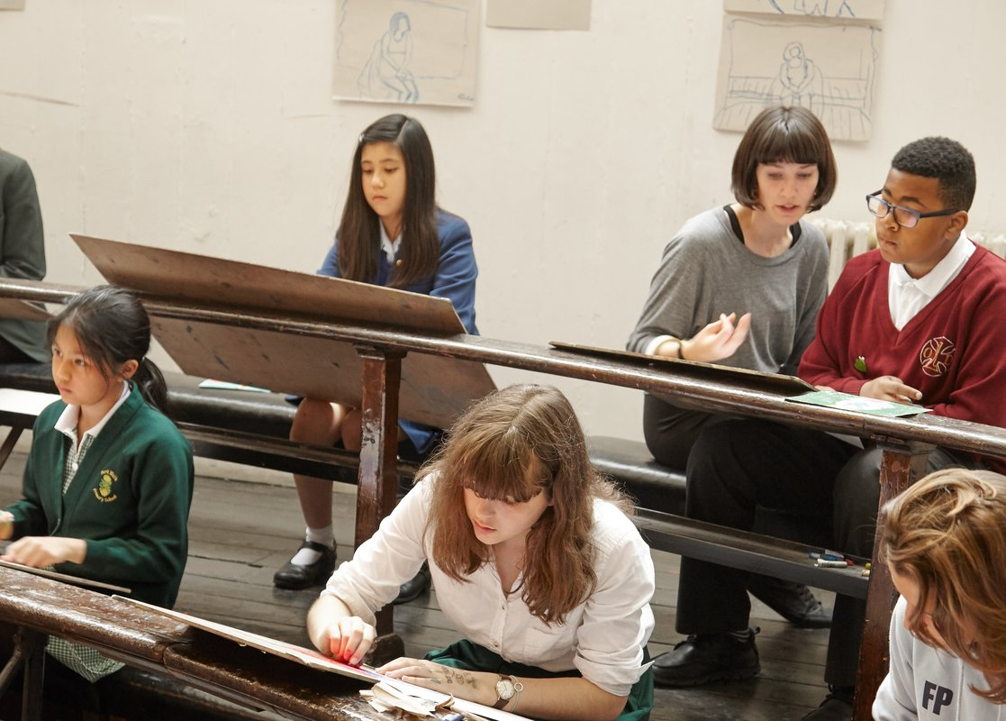 Life Drawing in Schools | The Royal Drawing School