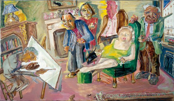 Painting The Family<span>Copyright Timothy Hyman</span>