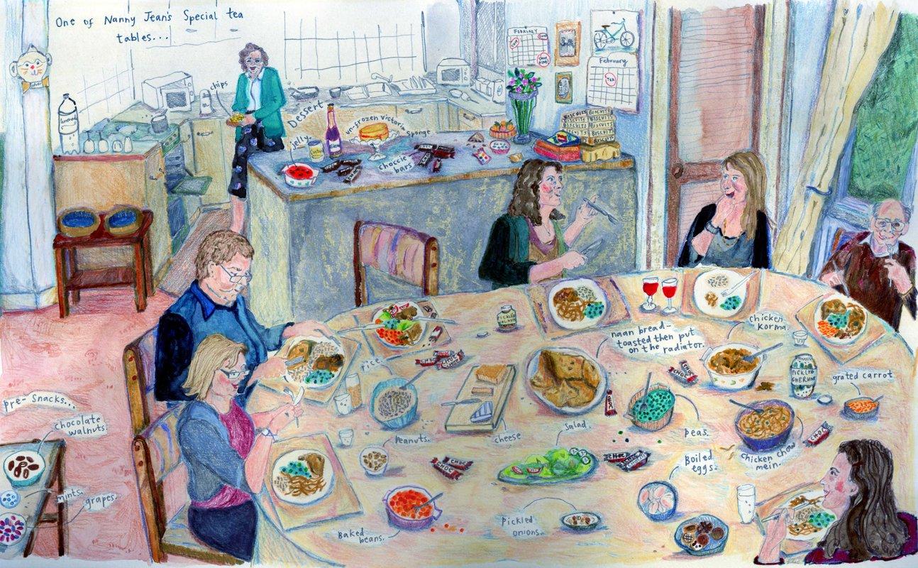 Party Table<span>Copyright Amanda Johnson</span>