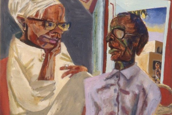 Timothy Hyman lecture - Bhupen KhaKhar cropped
