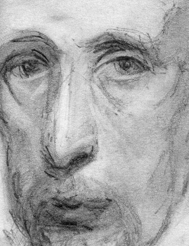 Portrait of a sad man<span>Copyright Sara Lee Roberts</span>