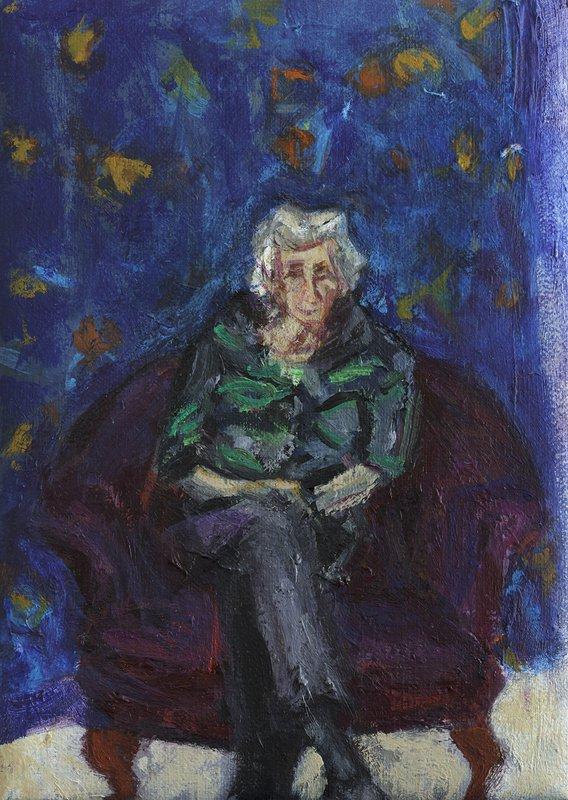 Portrait of an Artist <span>Copyright Julie Held</span>