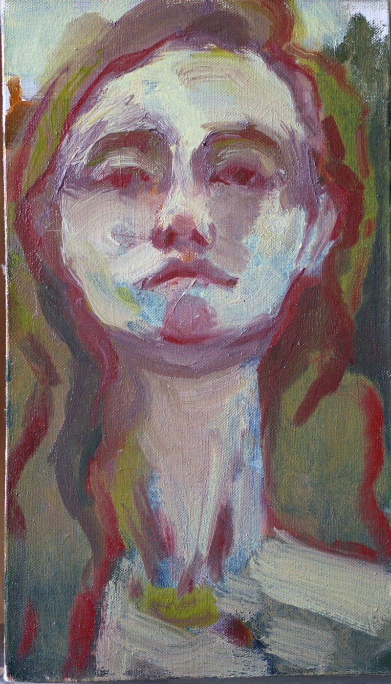 Rachel Mercer - Self Portait.RedChin..jpg