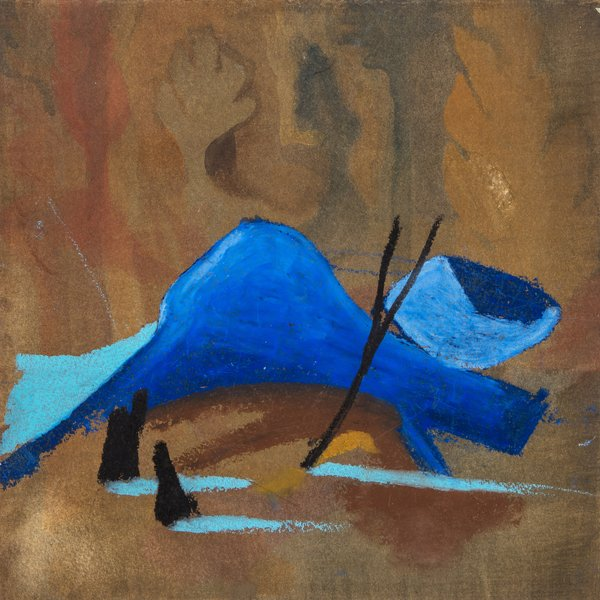 Blue slab