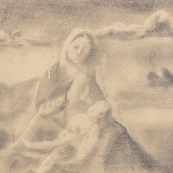Madonna of the Meadow Study