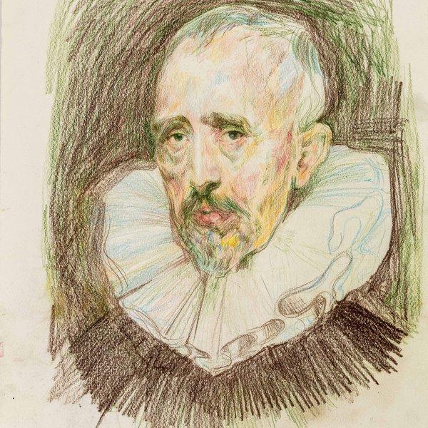 Portrait of Cornelis (after van Dyck)