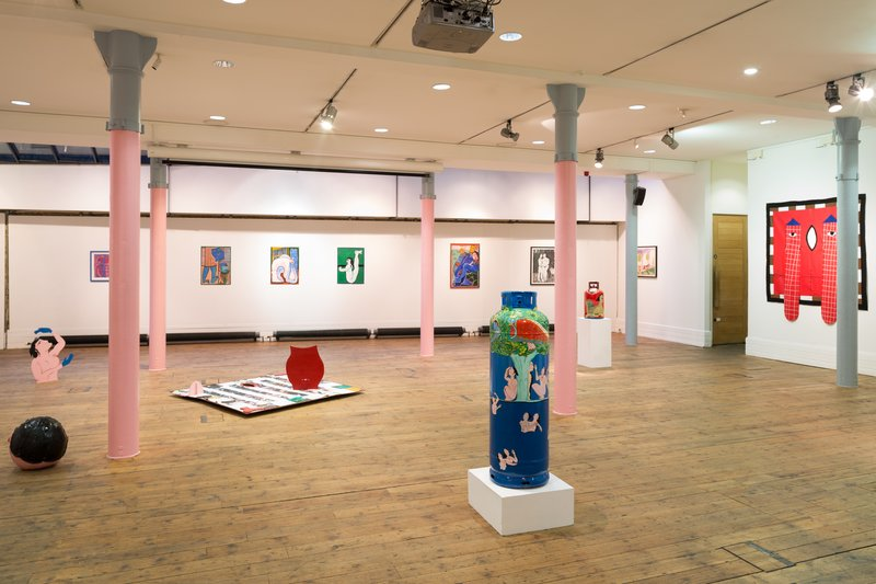 Rosie Vohra exhibition