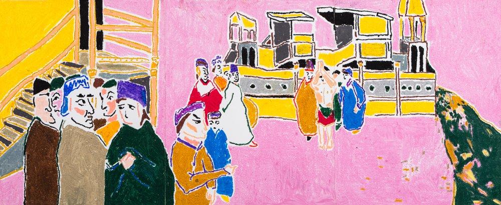 Pink Gossip<span>Copyright Christabel Forbes</span>