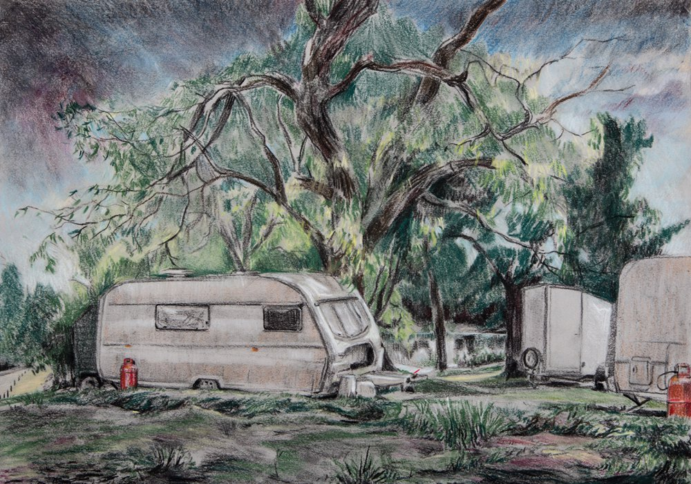 Caravan<span>Copyright Geraint Ross Evans</span>