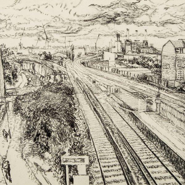 Wandsworth Road towards Battersea