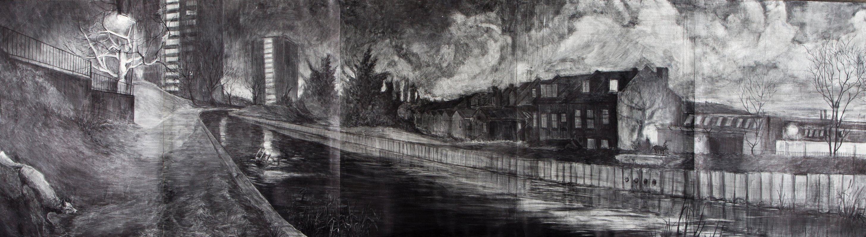Canal Nocturne<span>Copyright Geraint Ross Evans</span>