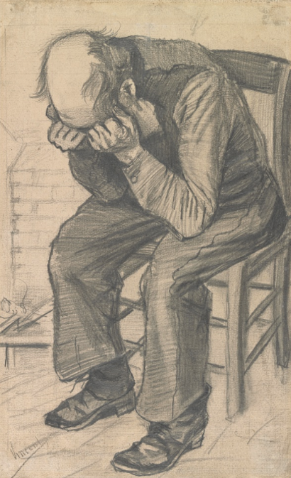 Worn Out  Vincent van Gogh, November 1882