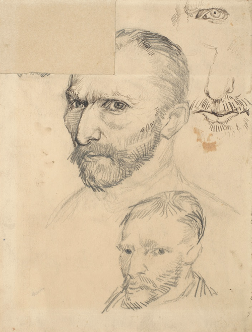 Self-Portraits  Vincent van Gogh, January-June 1887